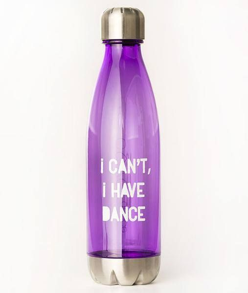 Covet I Can't I Have Dance Hipster Tritan Water Bottle