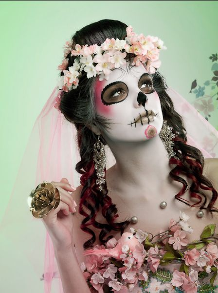 day of the dead makeup - halloween