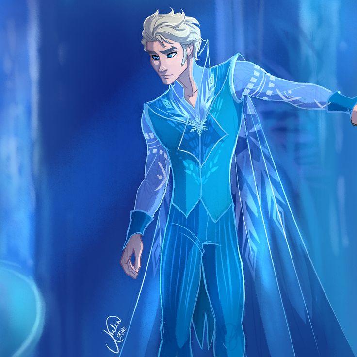 Genderbent Elsa | Art: juliajm15