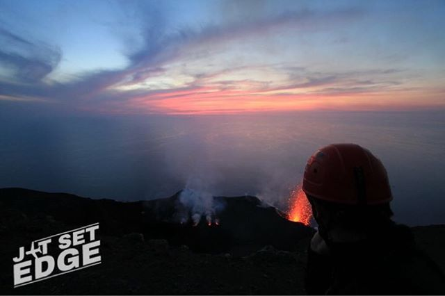 """Stromboli, Aeolian Islands. Constantly erupting.  #volcano #lava #flow #sicily #stromboli #sunset #jetsetedge #travel #instatravel #instagramhub #instagram #photography #photo #photographer #travelphotography #travelblogger #instagram #instagood #lens #nature #traveling #travelingram #travels #photos #landscape #nofilter #holiday"" by @edge_jetset. #pic #picture #photos #photograph #foto #pictures #fotografia #color #capture #camera #moment #pics #snapshot #사진 #nice #all_shots #写真…"