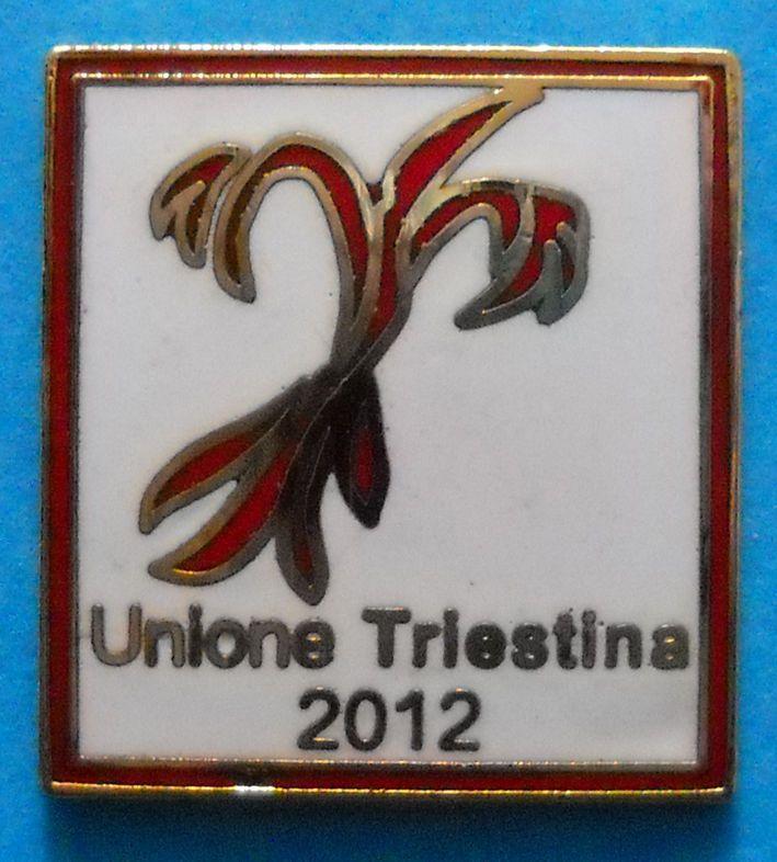 DISTINTIVO SPILLA PIN - UNIONE TRIESTINA CALCIO - cod. 554