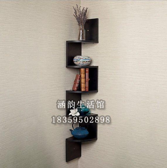 Han yun amerikaanse hoek rekken plank boekenkast plank multi  retro  stijl houten opbergrek opbergrek display stand in Hout materiaal: grenenOf kan worden aangepast: het isStructuur proces: hout technologieHouten structuur technologie: and van Swivel Platen op AliExpress.com | Alibaba Groep
