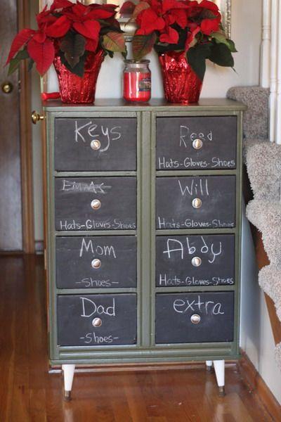 15 Chalkboard Dresser Painting Ideas