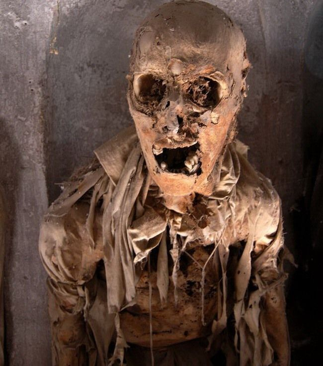 #интересное  Музей мертвецов в Палермо (28 фото)   ЖЕСТЬ! Катакомбы капуцинов (итал. Catacombe dei Cappuccini) — погребальные катакомбы, расположенные в городе Палермо на Сицилии, в которых в открытом виде покоятся останки более восьми тысяч человек, по большей части местной