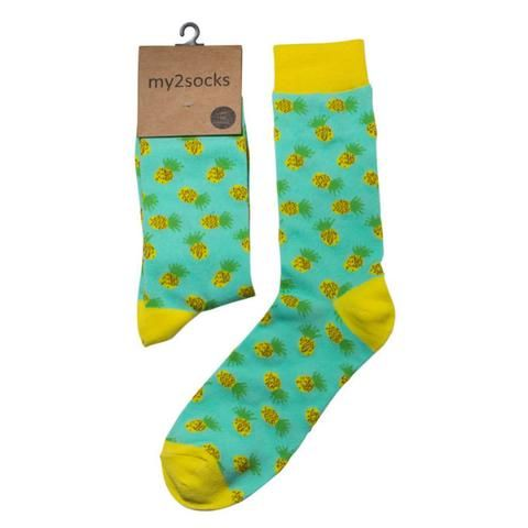 Pineapple Socks #noveltysocks
