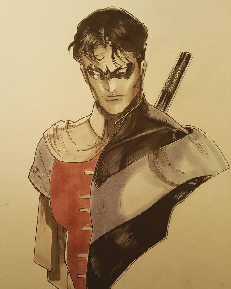 """""""When I was a child….."""" Nightwing/Robin - Peter V Nguyen"""