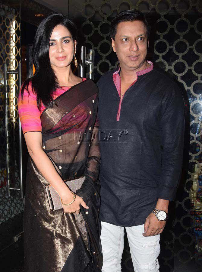Photos: Mugdha Godse, Neetu Chandra watch 'Indu Sarkar' - Entertainment