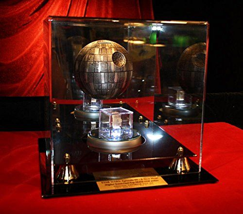 George Lucas STAR WARS Prop DEATH STAR COA London Prop Store DVD Case UACC @ niftywarehouse.com #NiftyWarehouse #Geek #Gifts #Collectibles #Entertainment #Merch
