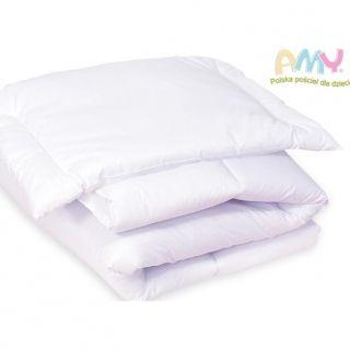 Amy kołdra i poduszka dla niemowlaka 120x90 cm