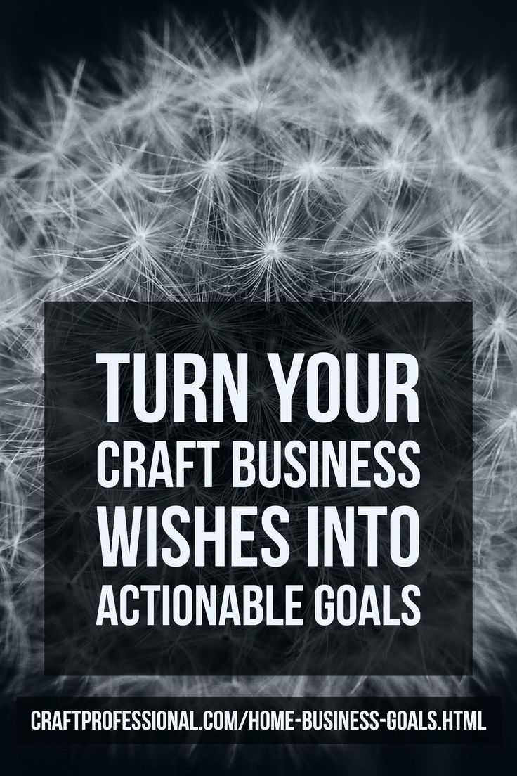 how to develop goals for a business