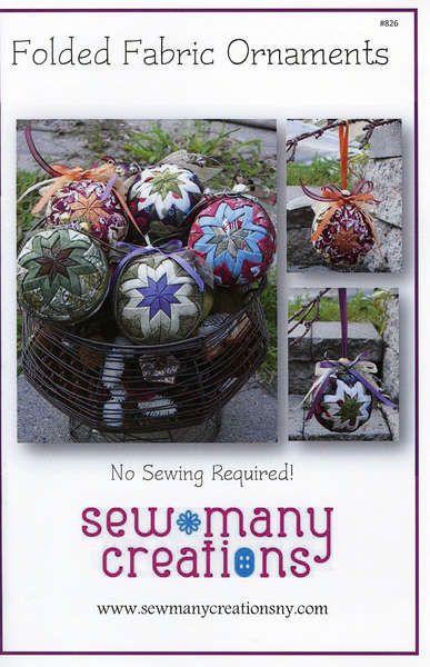 Folded Fabric OrnamentsSMC826