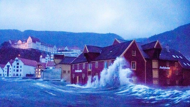 Bergen, Nina storm