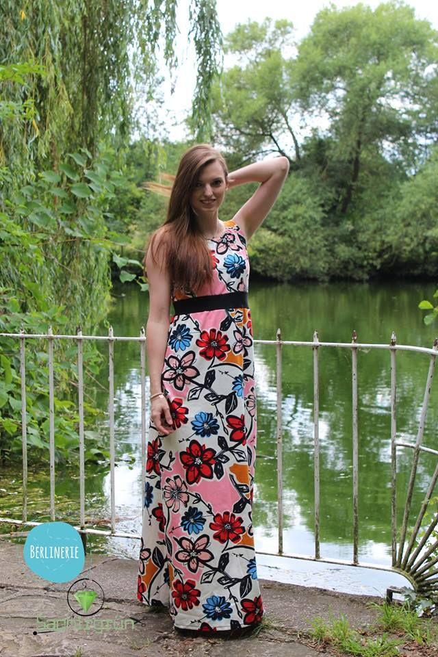 Schnittmuster für ein luftiges Sommerkleid, mit Kappärmeln, oder ...