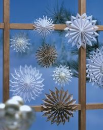 Gentle Star dance...it was an old German Christmas tradition to fill the windows with these love snow flakes.  Now it is becoming a lost art.