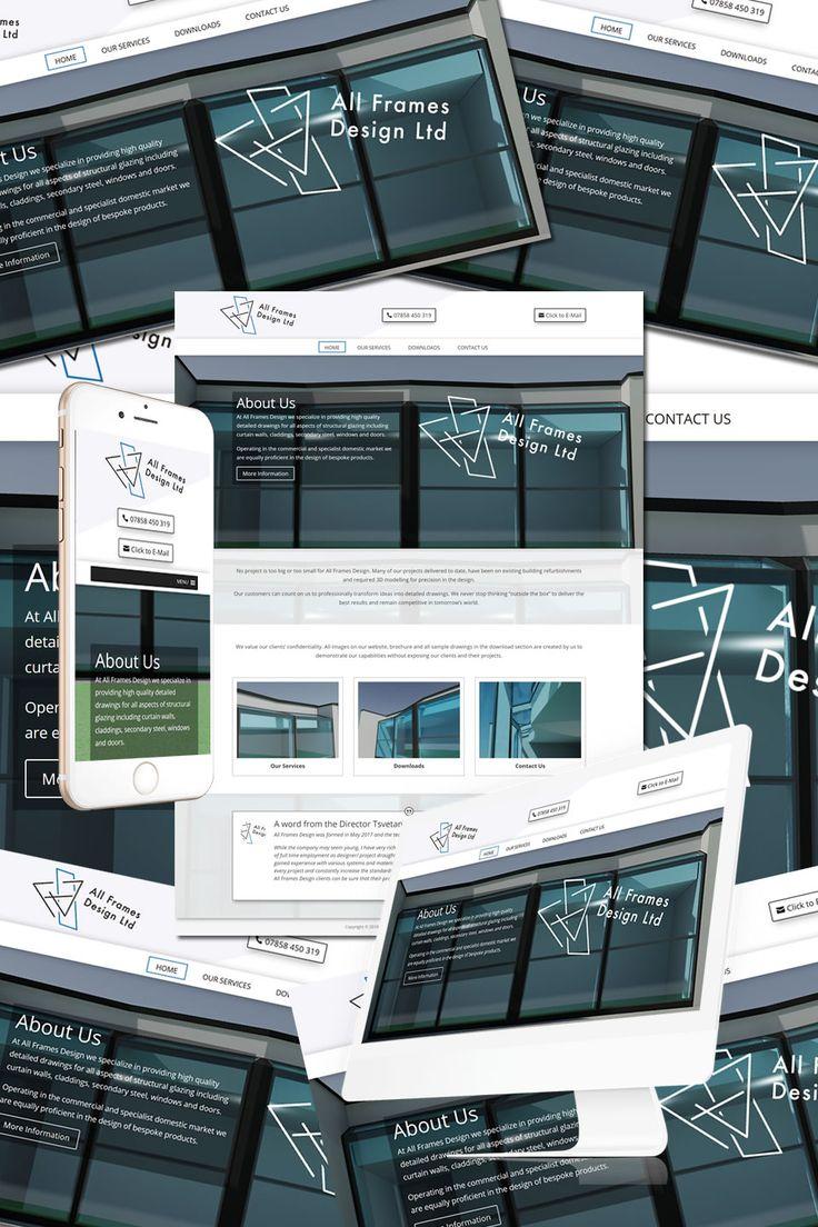 The New Website for All Frames Design in Slough https://hostcat.co.uk/project/frames-design-slough/