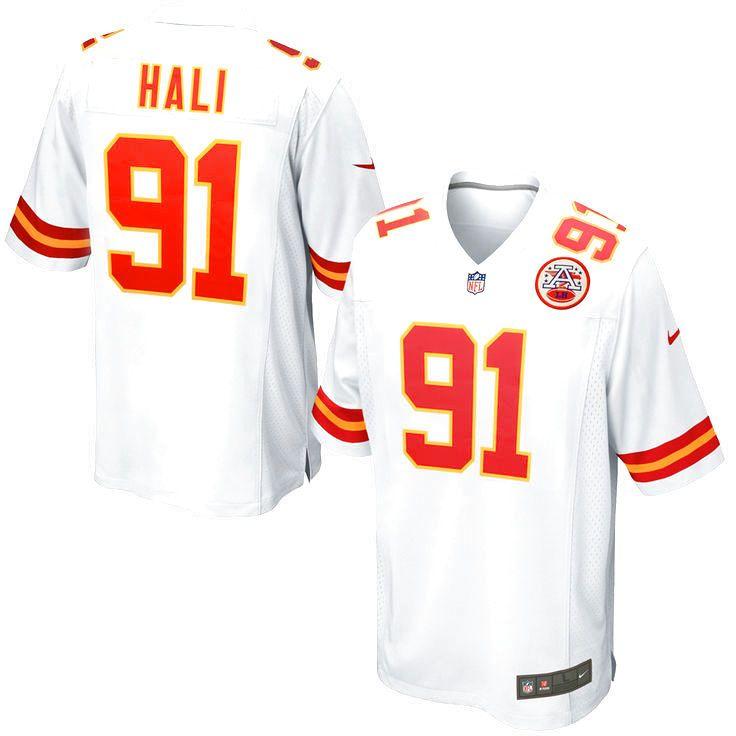 Tamba Hali Kansas City Chiefs Nike Game Jersey - White - $99.99