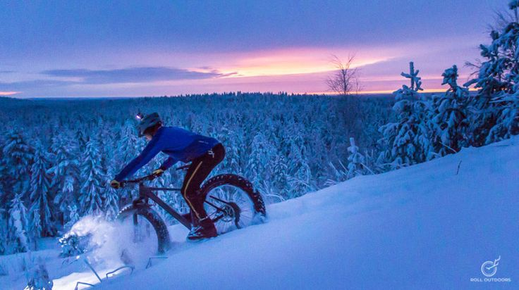 Custom private fat bike tours -Rovaniemi, Lapland, Finland