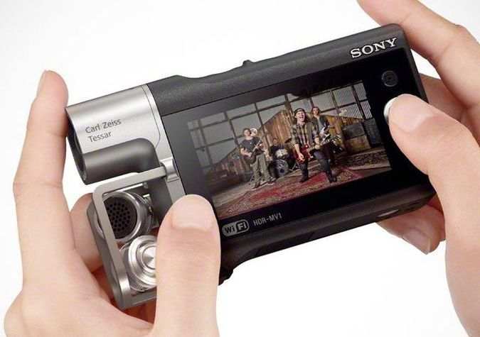 Sony HDR-MV1- The High-Quality Audio Pocket Camcorder 2