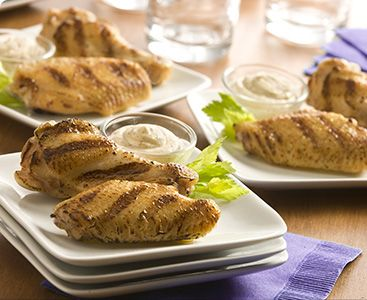18 best perdue chicken recipes images on pinterest great recipes wings for the big game for guests who arent spicy food fans garlic wings with parmesan dipping sauce forumfinder Images