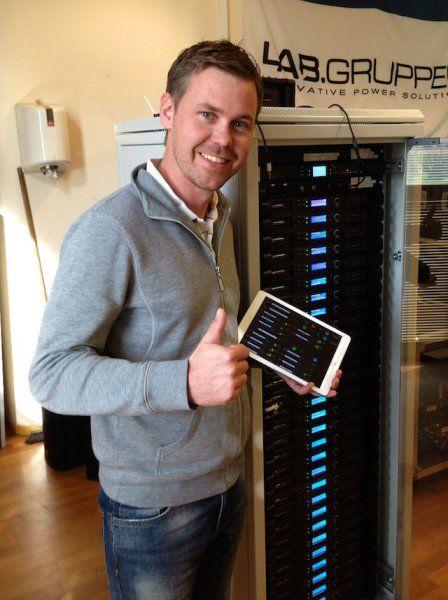 Lab.gruppen IPD -vahvistimet tottelevat nyt iPadia | Riffi