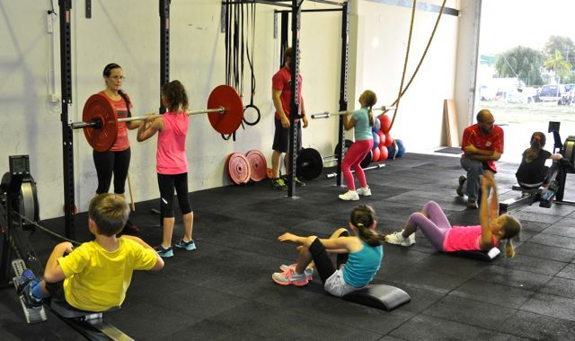 The CrossFit for Kids program at CrossFit Furnace. Term 2.