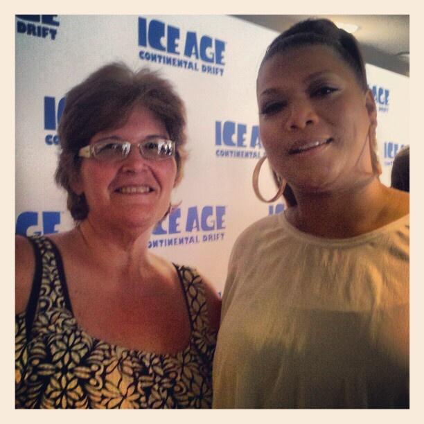 Me & Queen Latifah   #IceAge4: Queen Latifah