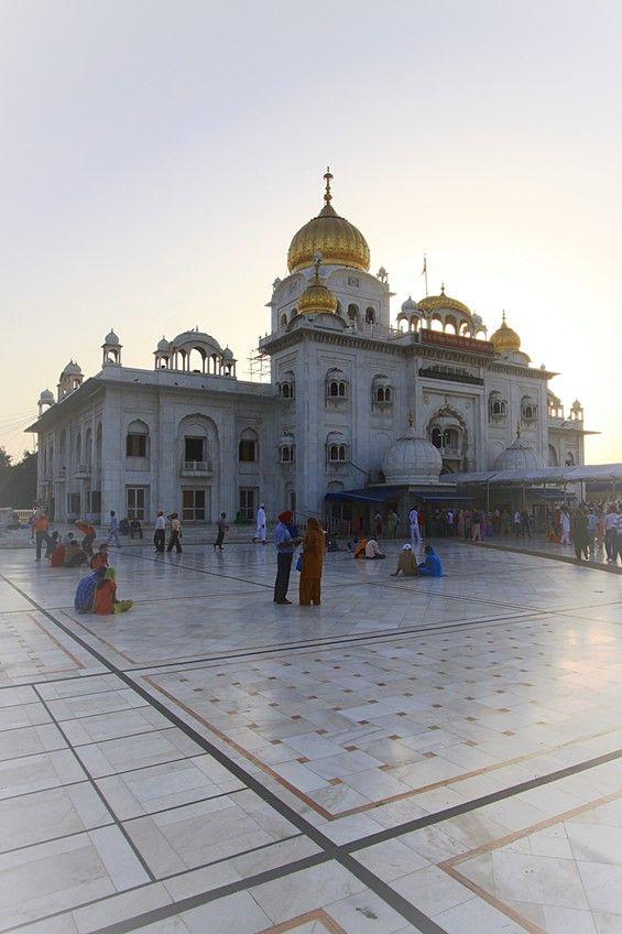 Gurudwara Bangla Sahib, Delhi. Foto di Samuele Fracasso