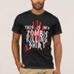 Zombie T-Shirt #halloween #happyhalloween #halloweenparty #halloweenmakeup #halloweencostume