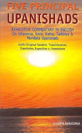 Five Principal Upanishads- Exhaustive Commentary in ...Upanishads Symbol