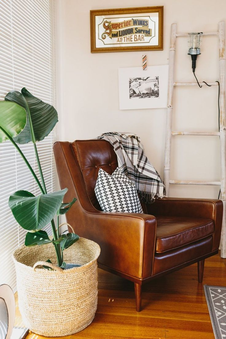 Armchair - Jess' Colorful Urban Townhouse