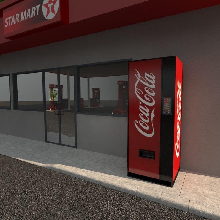3d texaco station model