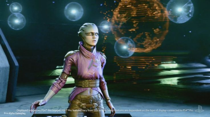 The first official Mass Effect: Andromeda gameplay looks a lot like Destiny: The first ever official gameplay for Mass Effect: Andromeda…