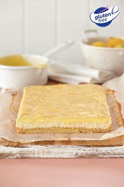 Lemon Cheesecake Slice - Gluten Free