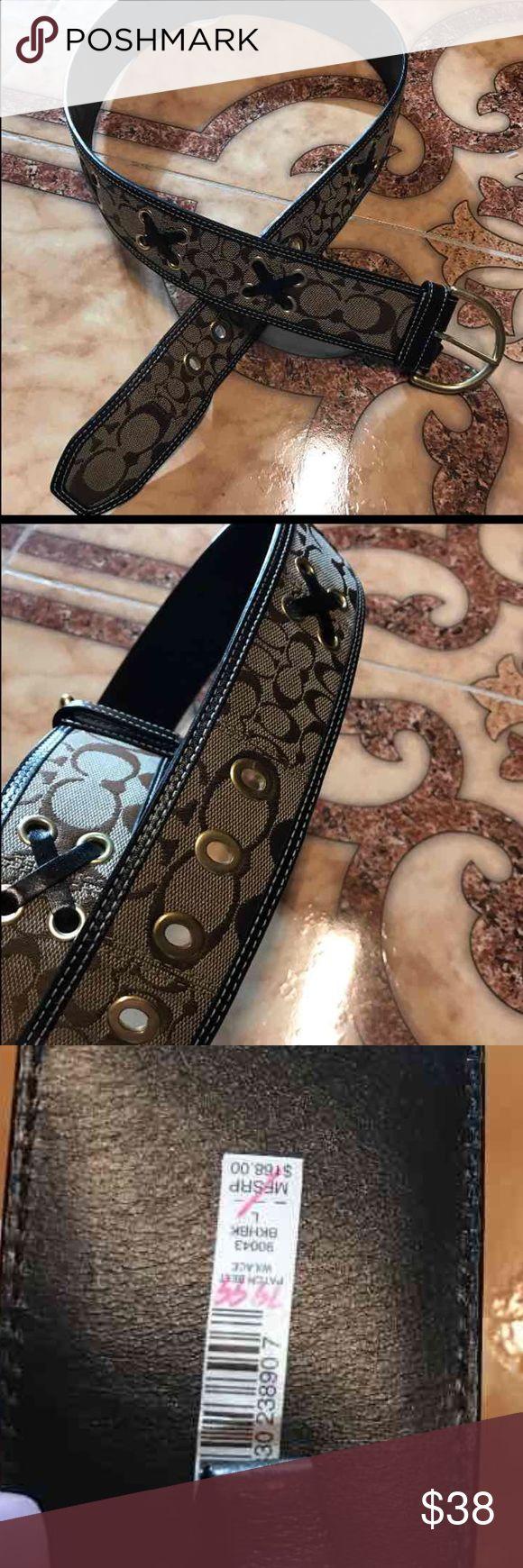 Coach belt auténtic Auténtic coach belt size Large  excelent condition like new Coach Accessories Belts