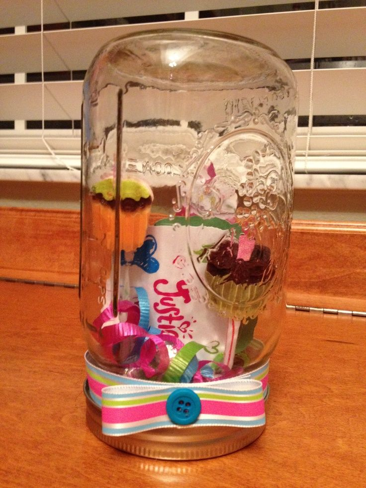 7 best diy gift ideas images on pinterest gift ideas creative silent auction gift card basket mason jar gift card holder negle Images