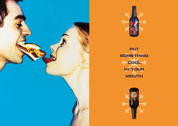 Read more: https://www.luerzersarchive.com/en/magazine/print-detail/britvic-1385.html Britvic Put something cool in your mouth. Tags: Poulter Communications, Leeds,Pete Campiono,Rick Ward,Britvic,Sandro Sodano