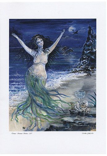 Domnu of Water Gift Card by Caroline Lir