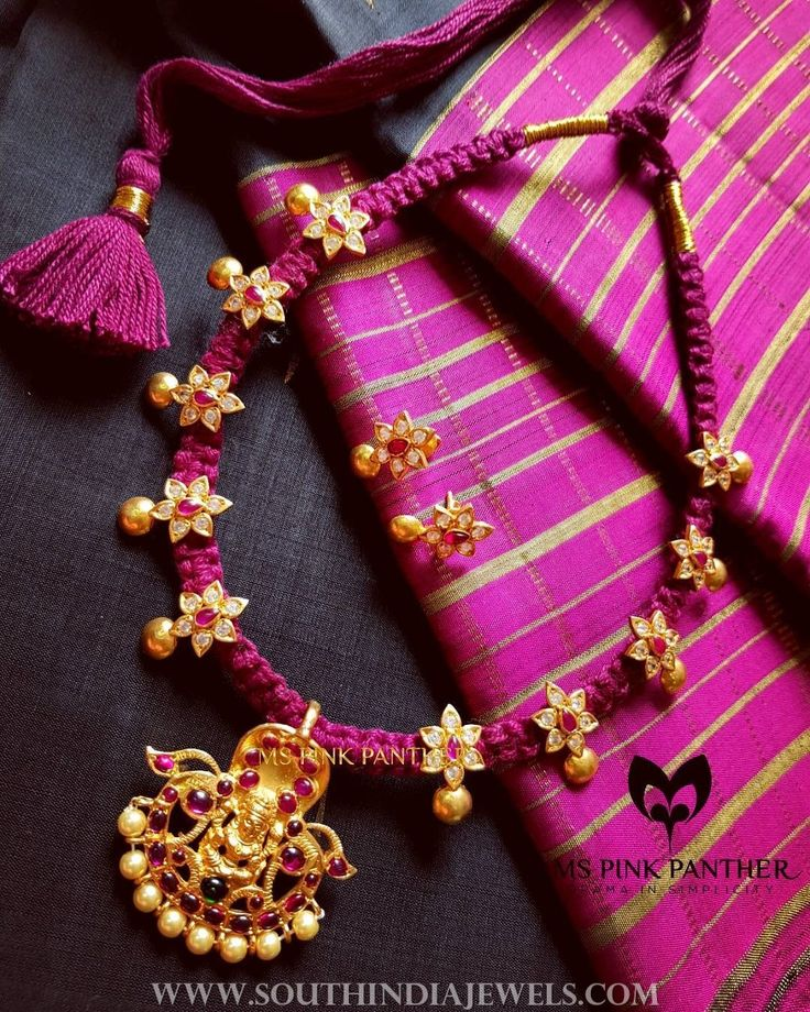 Ruby+Thread+Necklace+From+Ms+Pink+Panther