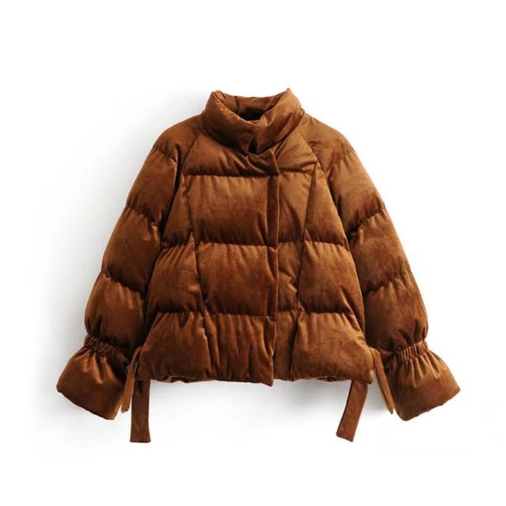 #aliexpress, #fashion, #outfit, #apparel, #shoes #aliexpress, #Winter, #Solid, #Velour, #Stand, #Collar, #Women, #Cotton, #padded, #Parkas, #Coats, #Female, #Bubble, #Sleeve, #Thick, #Jackets