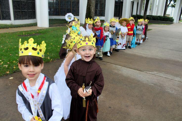 We have the cutest little saints @ St. Monica Catholic School