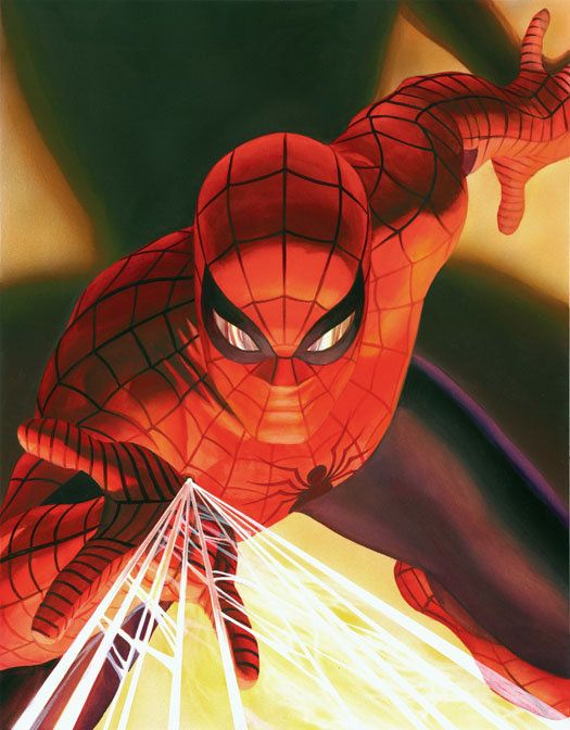 Alex Ross Visions: Spider-man by Alex Ross #Spider-man #Marvel