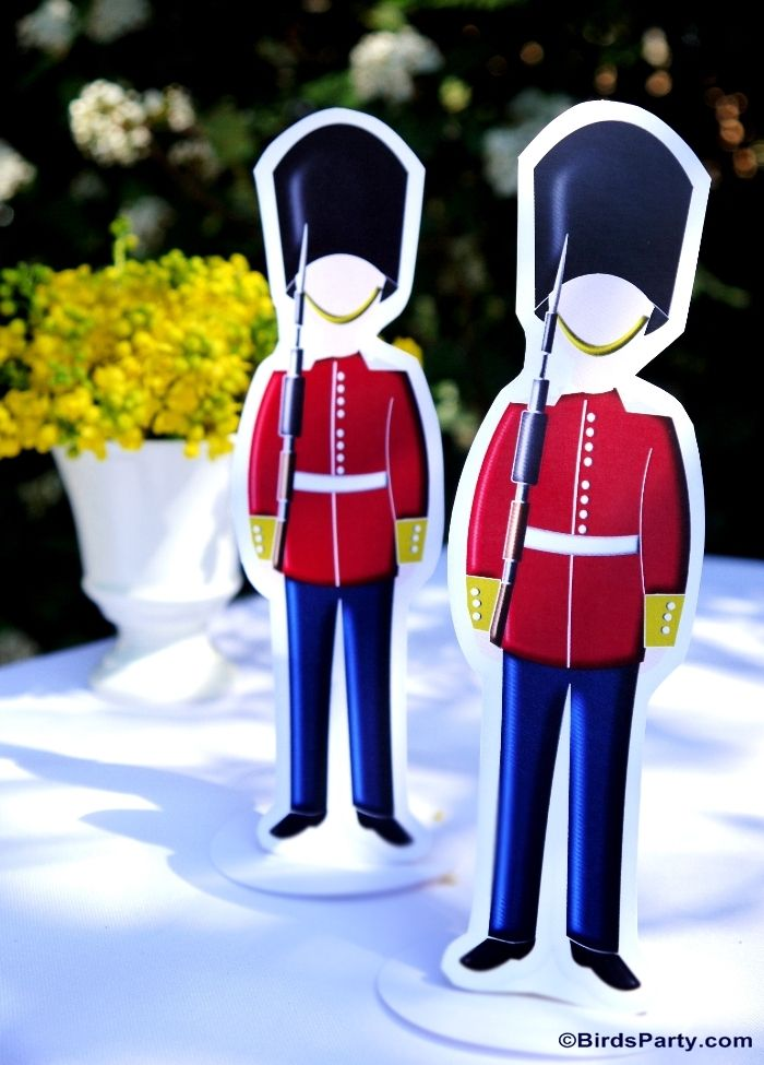 UK Inspired London themed Party - It's a GUARD party!