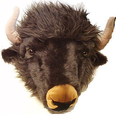 Wanddeco buffel