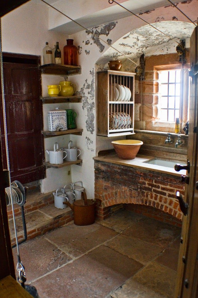 Miniature Endeavors: How It was Adorned with Goodly Stones [the Scullery Floor, of Course!]