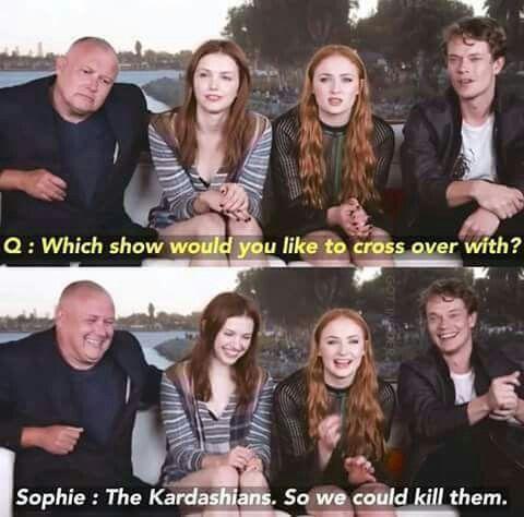 Yes, the Kardashians definitely need to visit Westeros
