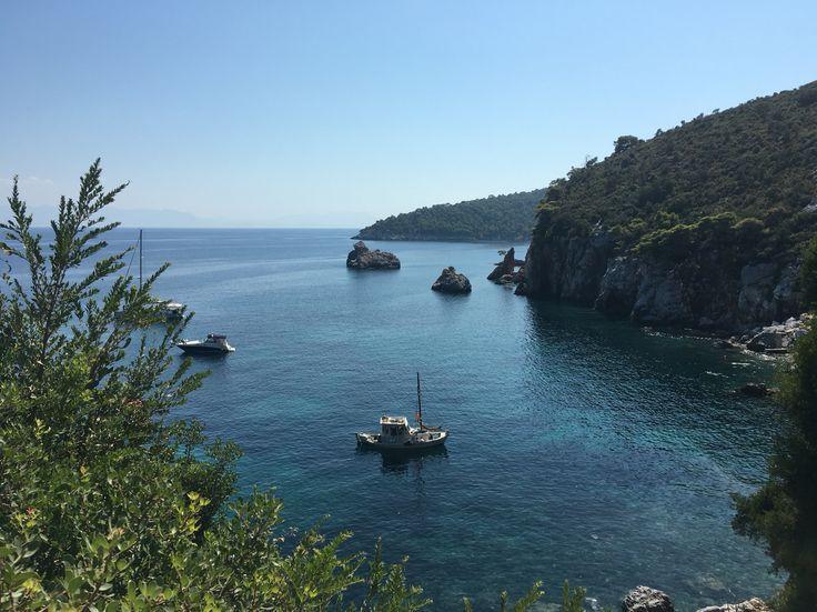 Stafylos beach at Skopelos island #lovegreece #hellas