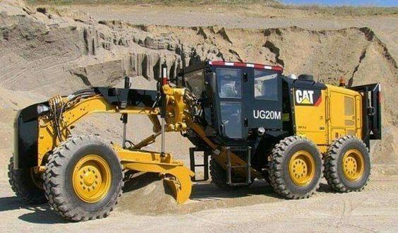 CATERPILLAR-UG20M. Motor-Grader.