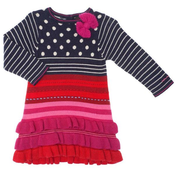 Catimini knitted dress Spirit couleur