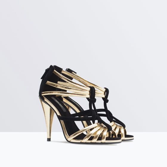 ZARA - SHOES & BAGS - STRAPPY SANDALS 2015 New Yr Dancing Shoes??