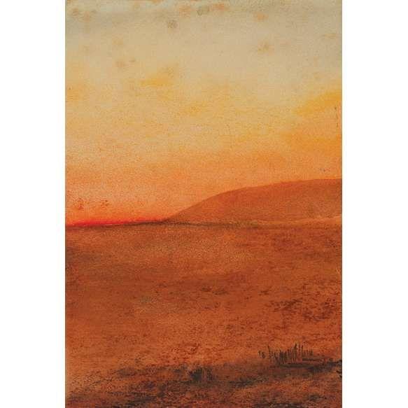 """MIRA SHENDEL - """"Sem titulo"""" - técnica mista sobre papel - 15 x 10 cm - sem assinatura - com certificado da galeria Millan."""